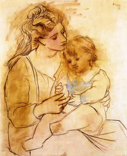 picasso_mother-and-child